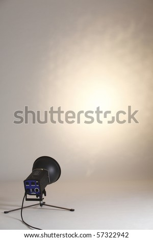 stock image of the studio light - stock photo