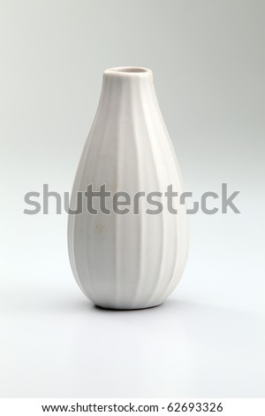 stock image of the vase on the plain backgroun