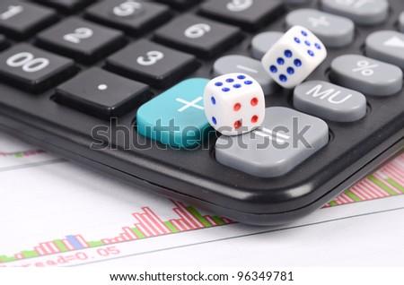 Stock market - stock photo