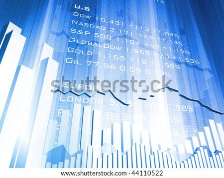 Stock Market Currencies - stock photo