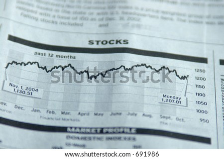 Stock page - stock photo