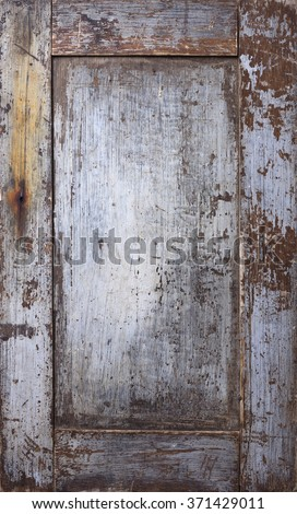 Stock photo of rustic wooden background with frame - stock photo