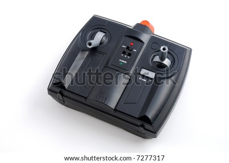 stock pictures of a remote control used for airplane play