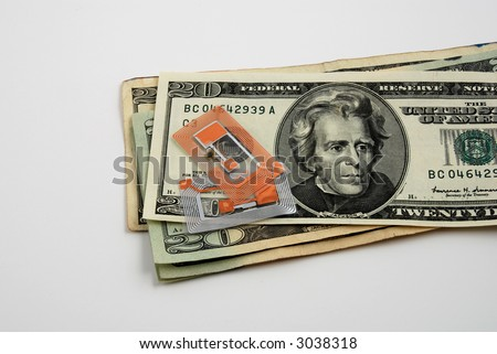 Stock pictures of applications and business related to radio frequency identification (RFID) - stock photo
