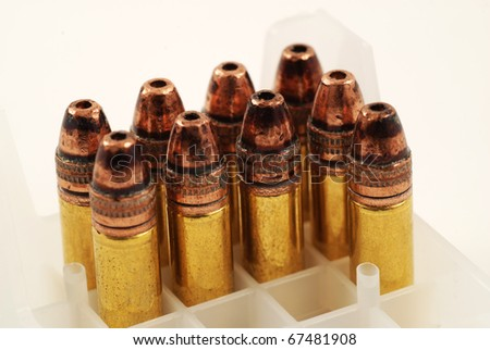 stock pictures of bullets for use in a rifle or gun