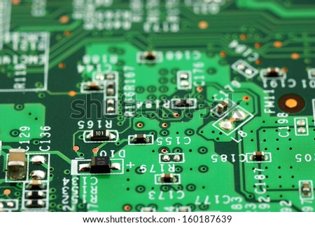 stock pictures of electronic systems deivices and components  - stock photo