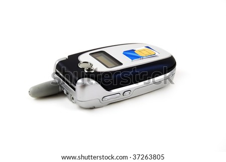 stock pictures of the components for a typical cell phone