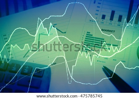 Stock's Data analyzing in stock market trading: the charts and summary info for making stock trading. Charts of financial instruments in stock market to do technical analysis.