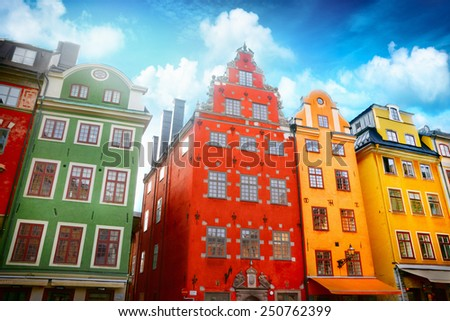 Stockholm - stock photo