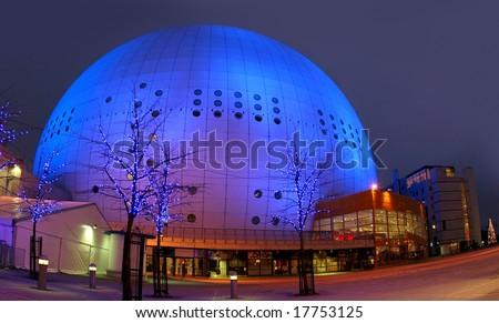 Stockholm Globe Arena (Globen) - stock photo