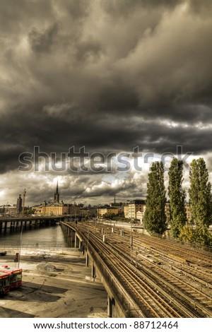 Stockholm,Sweden - stock photo