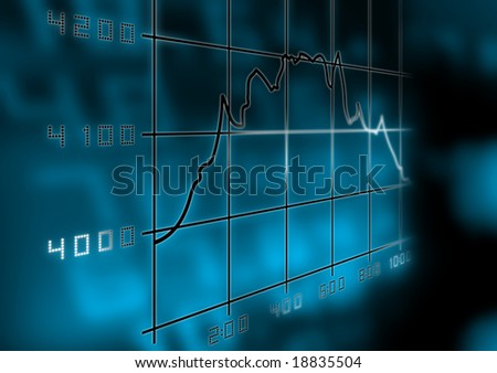 Stocks and Values - stock photo
