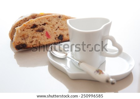 Stolen cake - stock photo