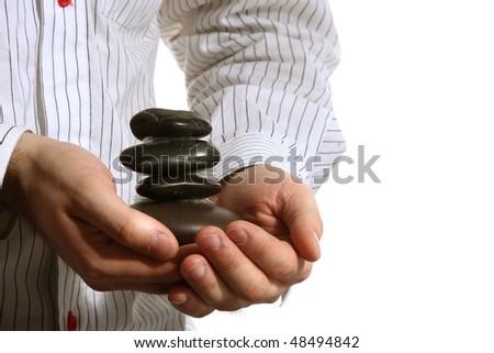 Stone - stock photo
