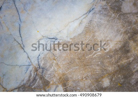 Stone abstract background with a pattern caused by water erosion