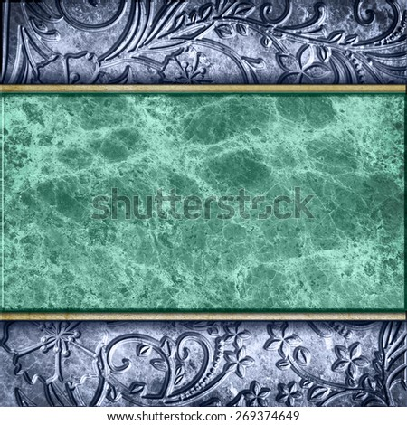 stone and metal background  - stock photo