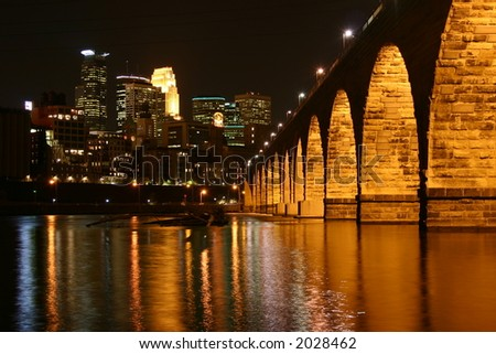 Stone Arch Bridge, Minneapolis Minnesota