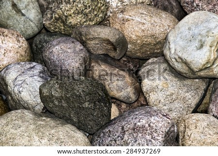 Stone background texture - stock photo