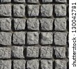 Stone Blocks. Seamless Tileable Texture. - stock photo