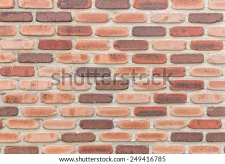 stone brick wall, abstract background. - stock photo