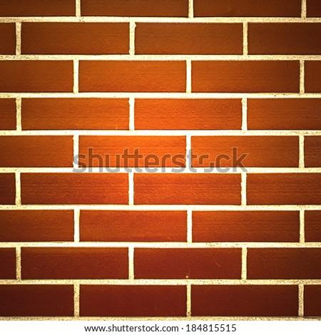 stone brick wall background - stock photo