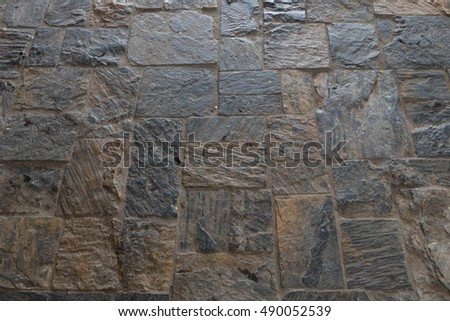 Stone cement wall texture background