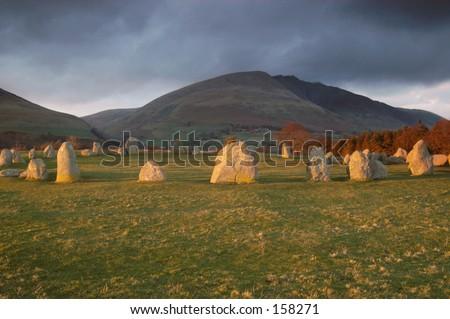 Stone Circle - stock photo