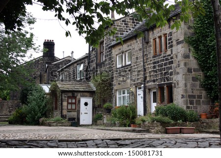 Stone Cottages in Heptonstall West Yorkshire