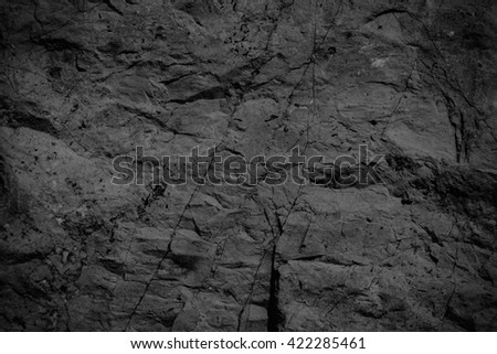 Stone dark background texture. Blank for design - stock photo