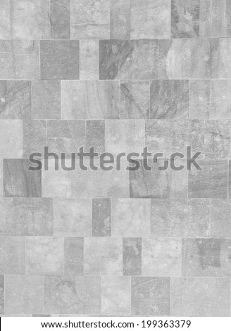 stone floor tiles - stock photo