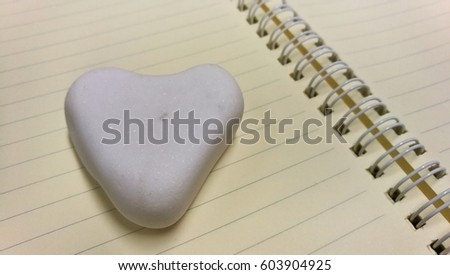 Stone Heart on book