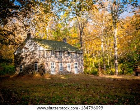Stone House - stock photo