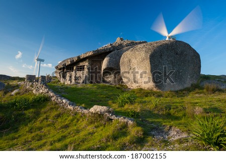 Stone House in Fafe, Portugal - stock photo