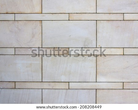 stone marble brick wall for background. - stock photo