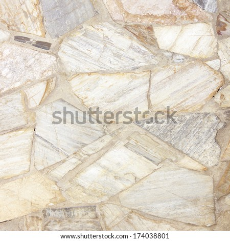 stone marble wall  background or texture floor decorative stone - stock photo