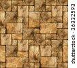Stone seamless background. - stock photo