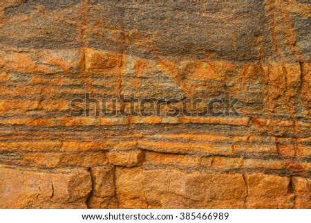 Stone surface colorful natural texture - stock photo