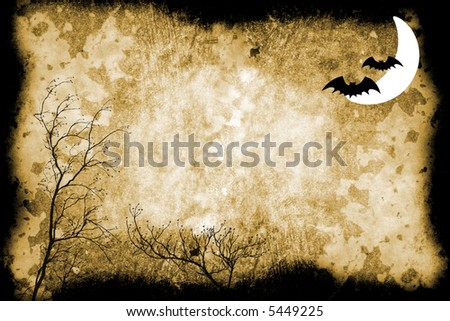 stone texture background with Halloween accents
