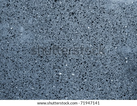 Stone Texture in the blue tilt - stock photo