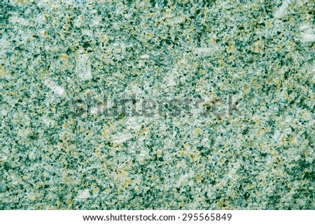 Stone Texture Surface in Green Color Shade.