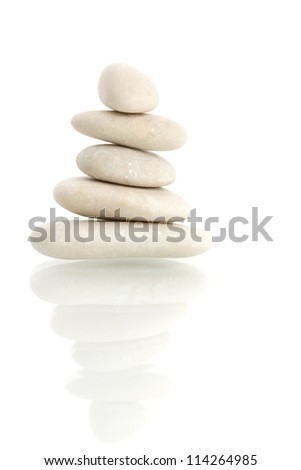 stone tower - stock photo