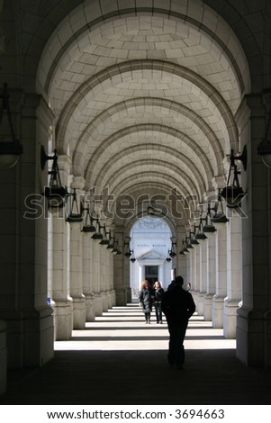 Stone Walkway - stock photo