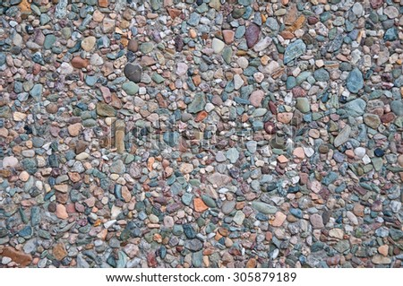 Stone wall as an abstract background