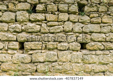 Stone wall as background image