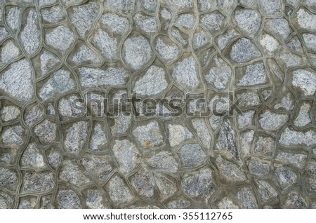 Stone Wall background architectural detail