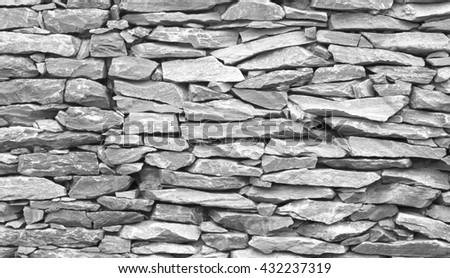 homemade stone wall rock wall stock photo 214022914 shutterstock