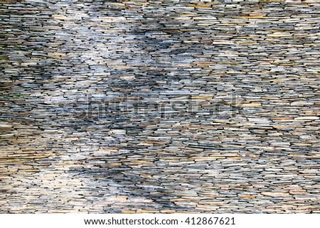 Stone Wall Cladding - stock photo