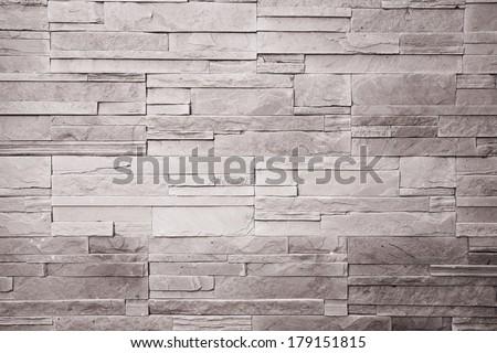 Stone Wall Construction Material - stock photo