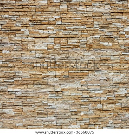 stone wall pattern natural surface - stock photo