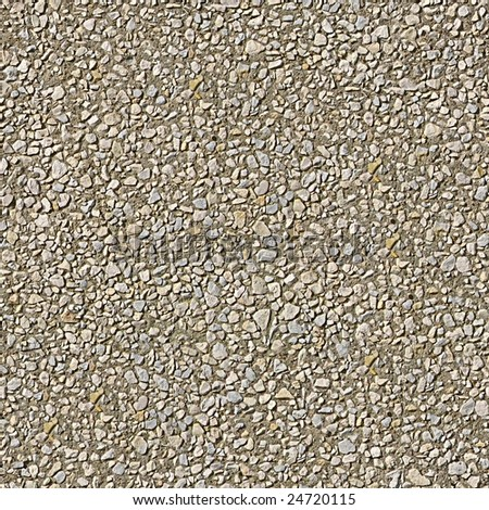 Stone wall seamless pattern - stock photo